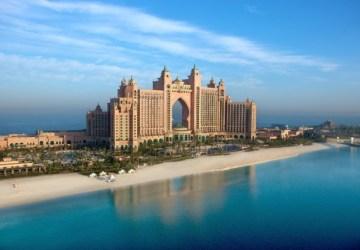 Dubai Palm Island Atlantis Hotel