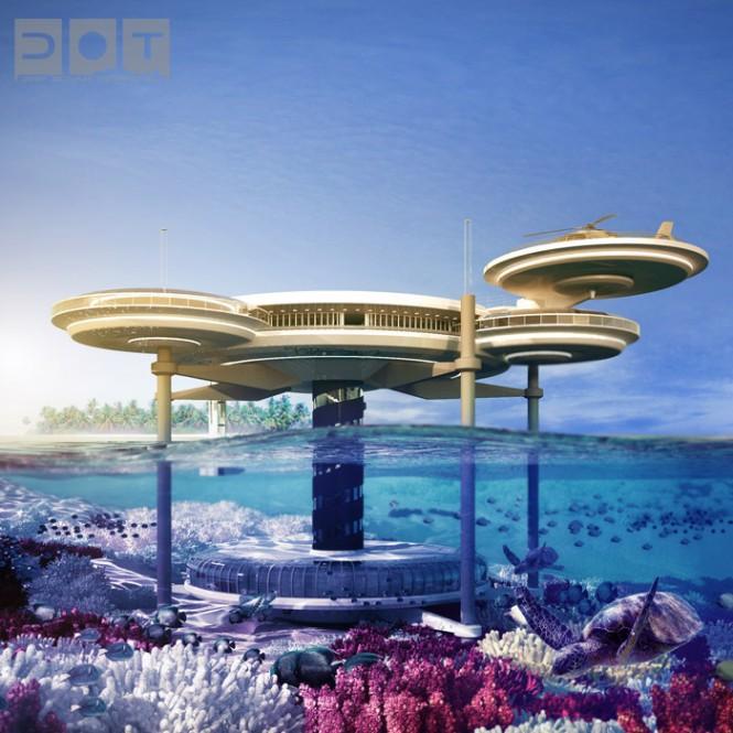 Water Discus Underwater Hotels Dubai