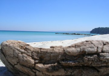 Greece Chalkidiki Kassandra Kallithea beach first peninsula