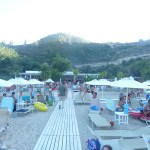 Greece Halkidiki middle peninsula akti oneirou beach 2