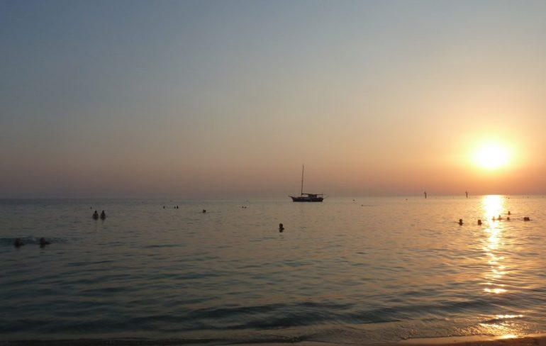 Greece Halkidiki Sani Beach Anemos sunshine