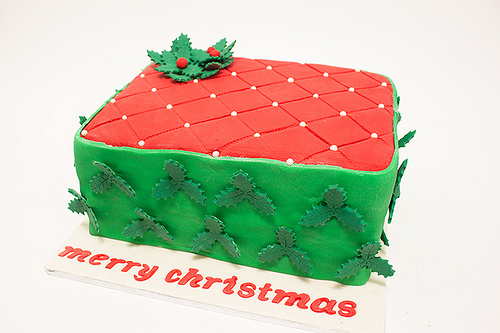 christmas cakes recipes red green
