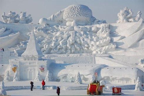 Harbin snow & ice festival 2013