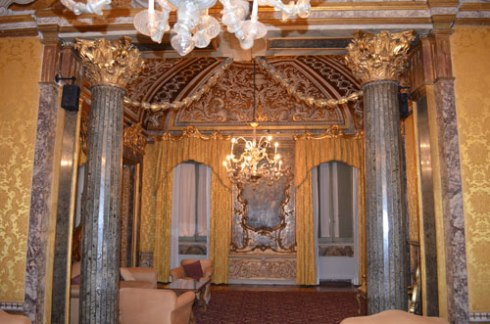 Rome rondinini palace interior