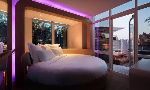 ultramodern hotel NYC