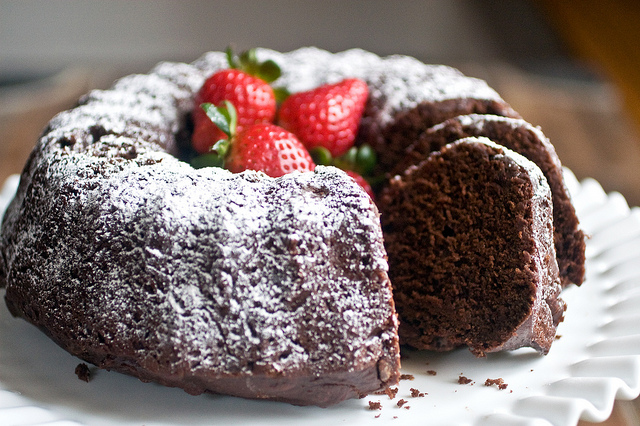 Chocolate cake with yogurt recipes