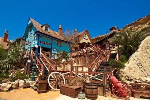 Malta's tourist attraction Popey village