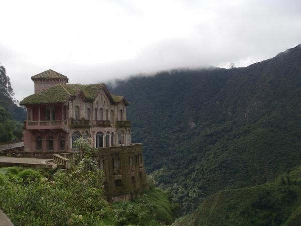 the haunted hotel in Colombia