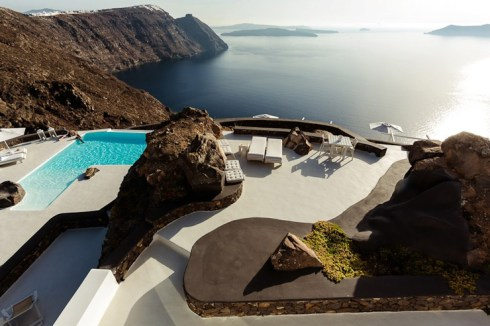 the Beautiful villa in Santorini Greece