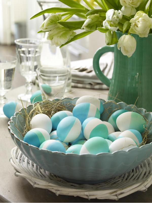 beautiful decorating ideas of easter eggs