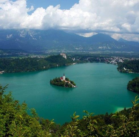 Bled island, Slovenia-a fairytale island