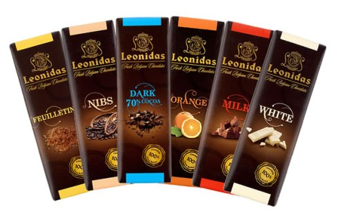 Leonidas Chocolat the best chocolate brands in the world