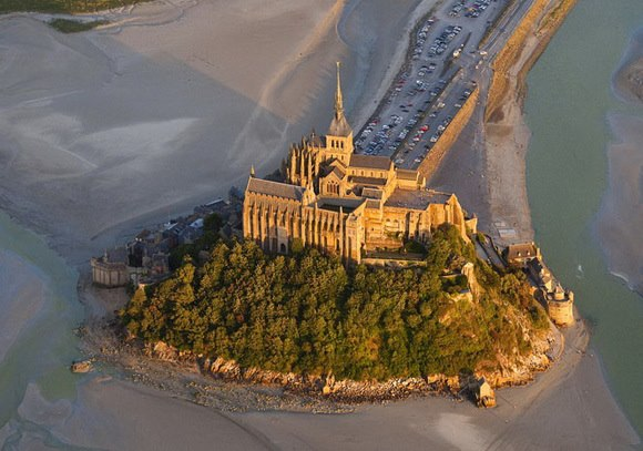 The Mont-Saint-Michel--a fairytale island