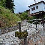 Old Agios Pandeleimon Traditional Greek village
