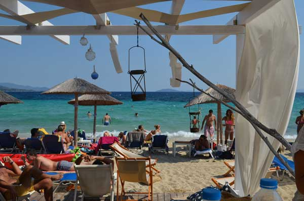 best beach in Halkidiki Agios ioannis beach Kohili
