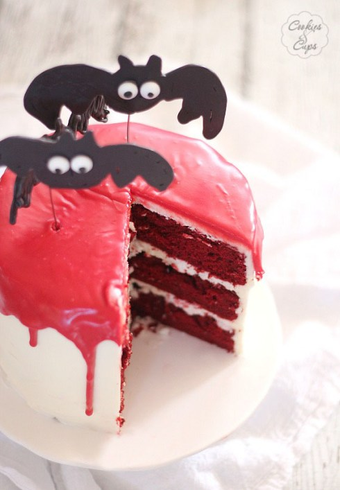 Halloween bat cakes recipe ideas