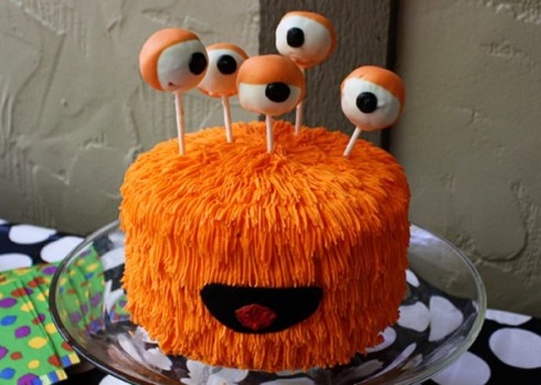 Halloween monster cake recipe ideas