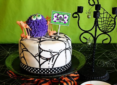 Halloween polca cake recipe ideas