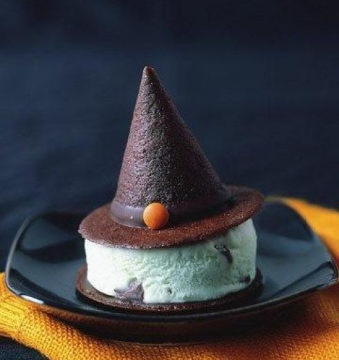 Easy and cute witch cap recipe
