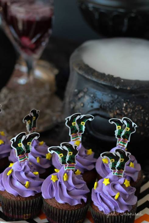 Easy and cute witch halloween recipe 2