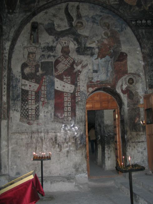 Sacred Wall Paintings in the cave monastery 3