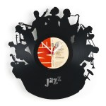 Creative clock art jazz