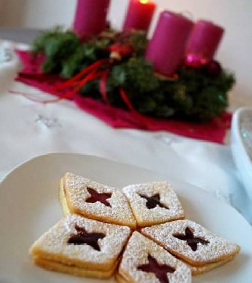 Best cookies recipe for christmas angel eyes