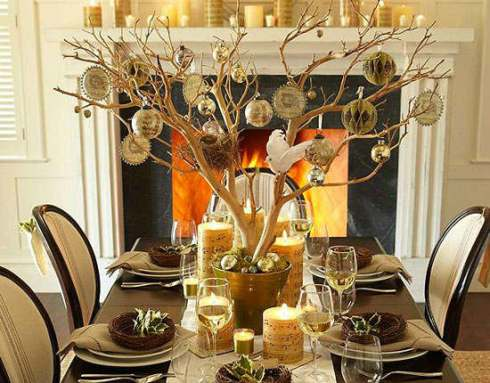 most creative christmas table decor ideas 43