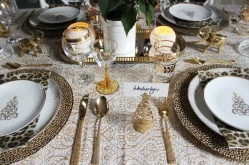 most creative christmas table decor ideas 44