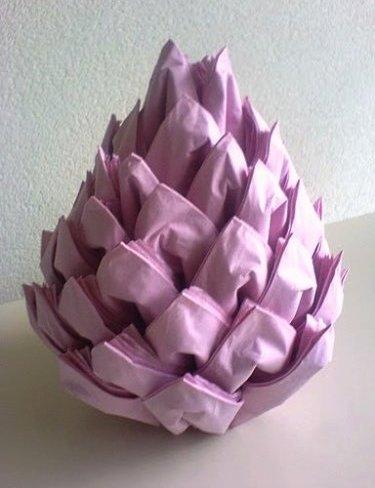 creative fold napkins for christmas 2