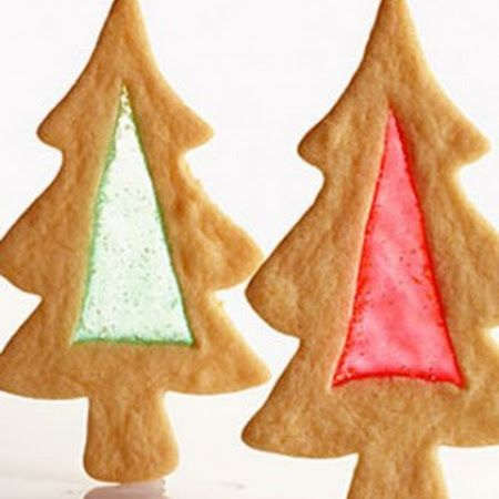 Best cookies recipe for christmas stained glass trees