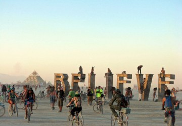 World's most interesting festivals, Burning Man
