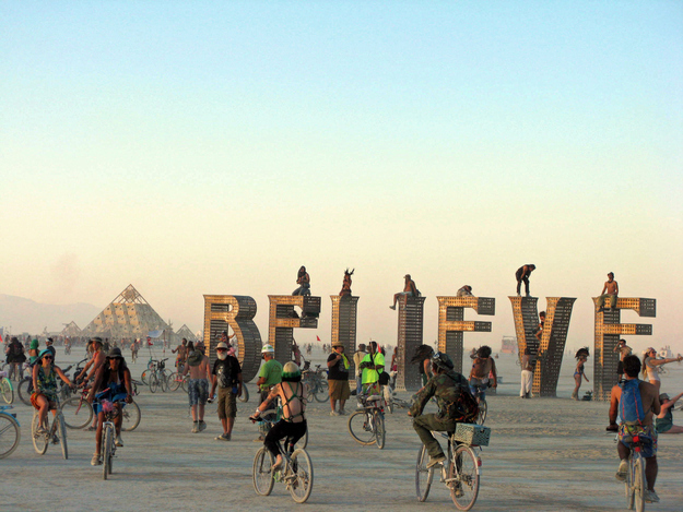World's most interesting festivals, Burning Man