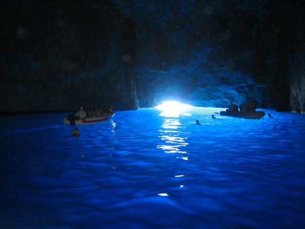 Beautiful Cave in Greek island 3