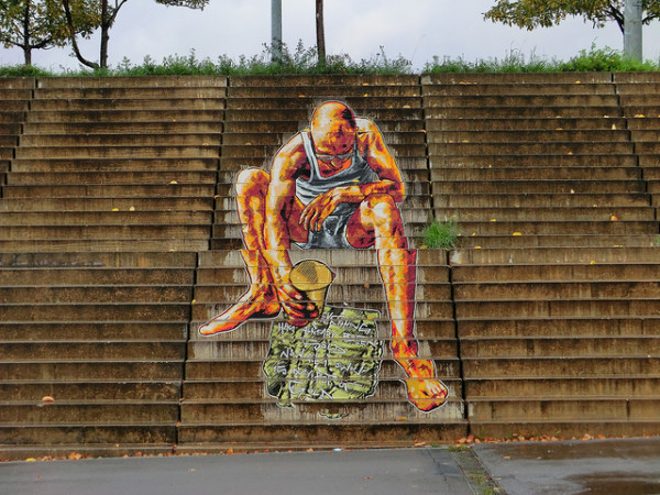 amazing stairs street art around the world, Berlin, Germany