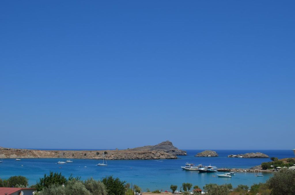Lindos, best places to visit in Rhodes 5