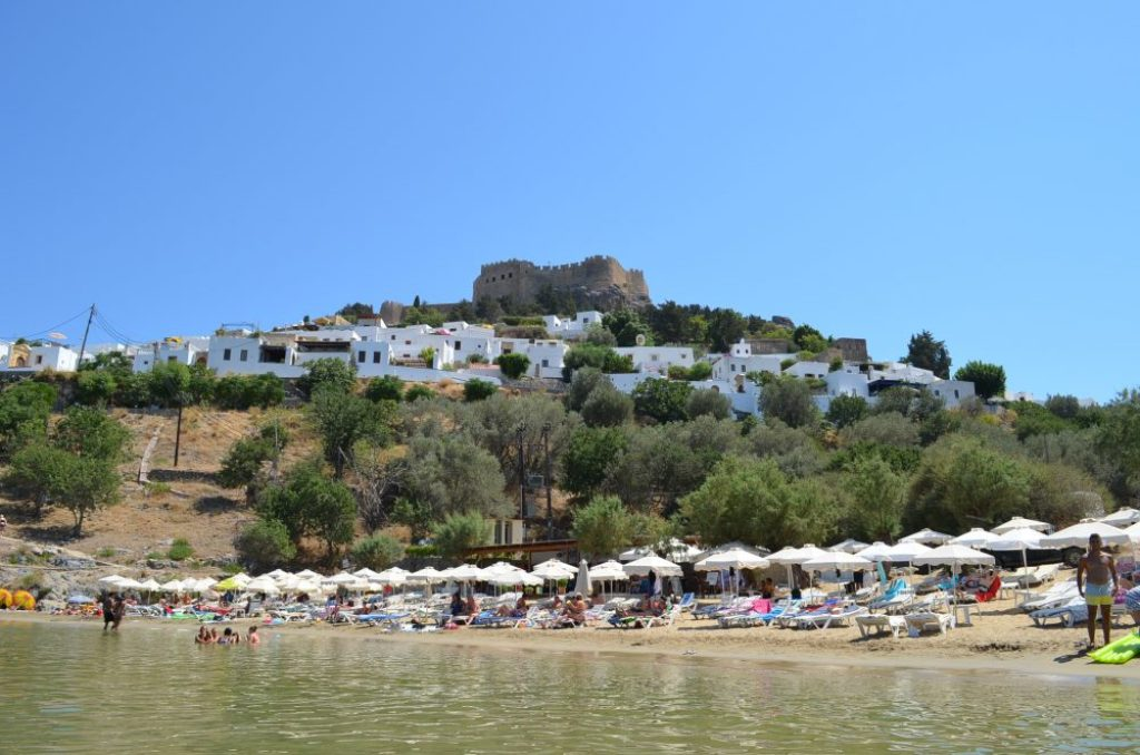 Lindos, best places to visit in Rhodes 9