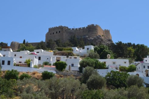 Lindos, best places to visit in Rhodes 8