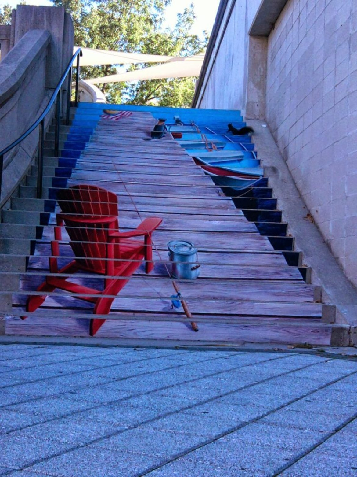 amazing stairs street art around the world, Ottawa - Canada-3