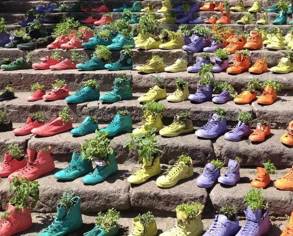 nghệ thuật đường phố cầu thang tuyệt vời trên khắp thế giới Santiago, Chile 2