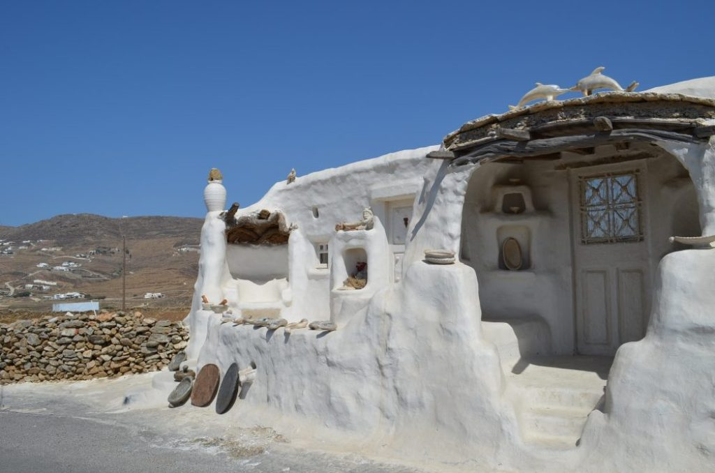 interesting things to see in Greek island Mykonos, Ftelia
