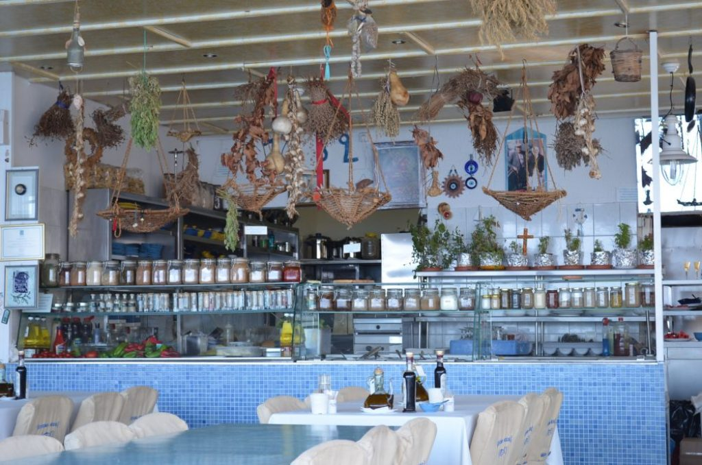 good restaurants in Rhodes islands, Kozas seaside taverna 3