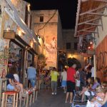 interesting things to see in island Rhodes, old city nightlife 3