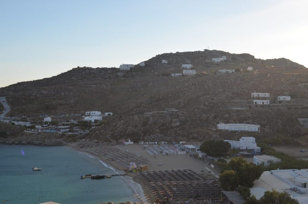 interesting things to see in Greek island Mykonos, super paradise beach