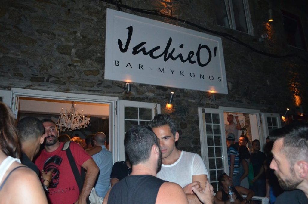 most popular bars in Mykonos, JackieO