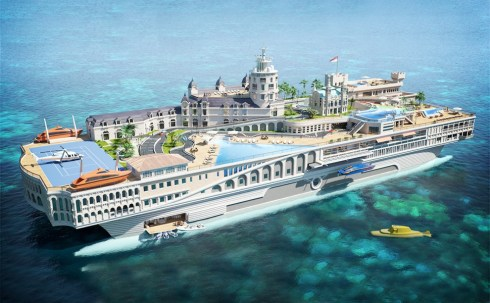 most expensive luxury yachts, Streets of Monaco