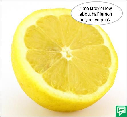 History of Birth Control, lemon