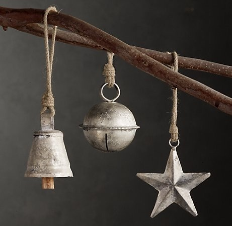 diy christmas ornament, vintage