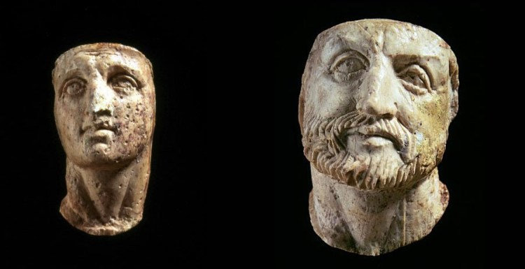 important archaeological discovery in Greece, Vergina-Philip and Alexander