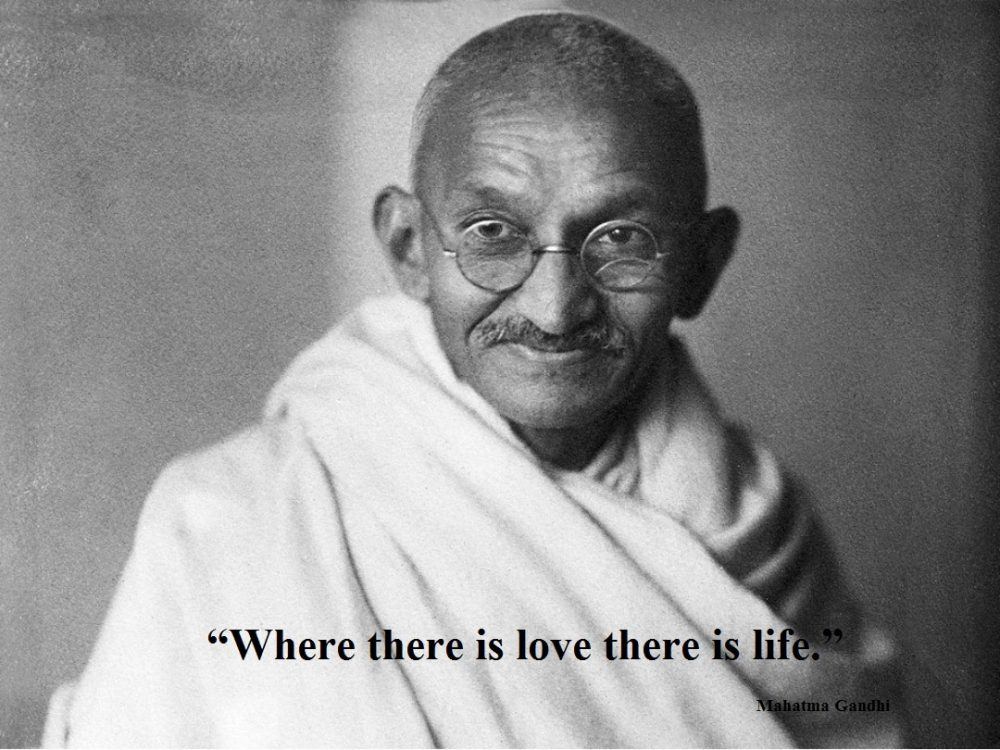 Gandhi Quotes On Love Collected Quotes From Mahatma Gandhi  Mocochoco